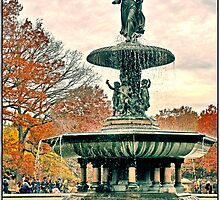 Bethesda Fountain by Forrest Harrison Gerke