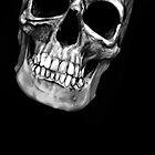 skull on black 2 by aaronnaps