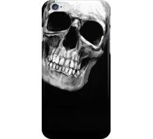 skull on black 2 iPhone Case/Skin