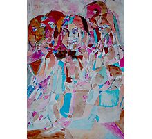 Threshold Of Picasso inspired Faces  Photographic Print
