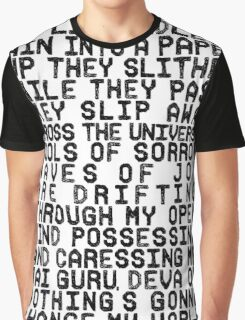 ACROSS THE UNIVERSE (black) Graphic T-Shirt
