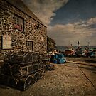 Cadgwith cove Cornwall by eddiej