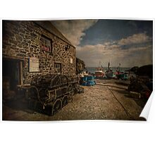 Cadgwith cove Cornwall Poster