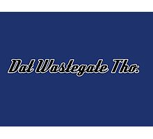 'Dat Wastegate Tho' - Tee Shirt / Sticker for JDM Car Culture - Black Photographic Print