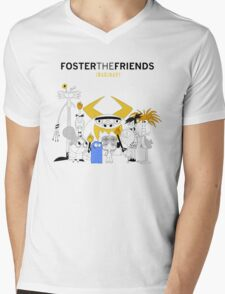 Foster the Friends Mens V-Neck T-Shirt