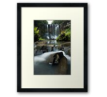 Mokoroa Falls Collection # 4 Framed Print