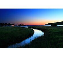 Sunrise over Gore Bay, Manitoulin Island, Ontario Photographic Print