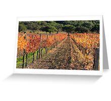 Vineyard Foliage Greeting Card