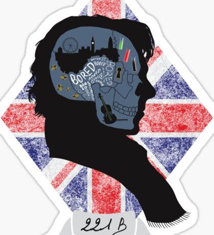 Sherlocks Mind Sticker