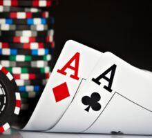 Poker Best Hand  Sticker