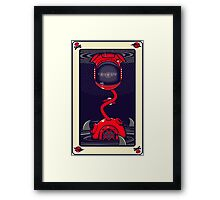 The Ace Of Fates Framed Print