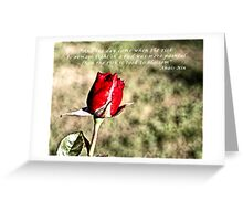 ... and the day came Greeting Card