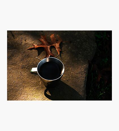 Autumn Coffee  Photographic Print