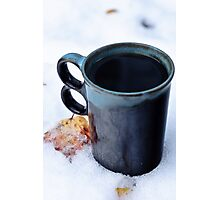 Winter Coffee  Photographic Print