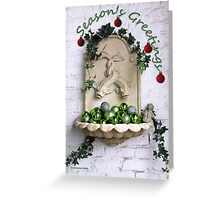 Happy Holidays ~ Season's Greetings Greeting Card