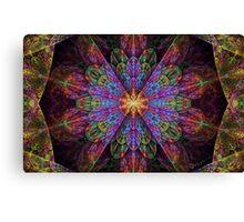 Split Crop Supernova Canvas Print