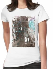 City Street Womens Fitted T-Shirt