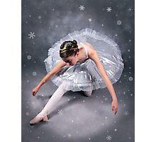 Christmas Ballerina Photographic Print