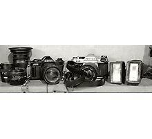 SLRs Photographic Print