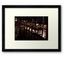 Bangkok Bar Spot Framed Print