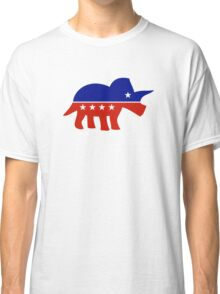 Triceratops Political Logo Classic T-Shirt