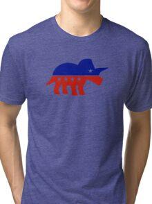 Triceratops Political Logo Tri-blend T-Shirt
