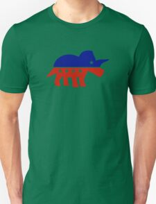 Triceratops Political Logo Unisex T-Shirt