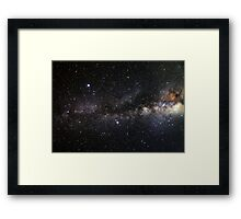 space and the universe (possibly aliens) Framed Print