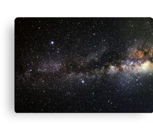space and the universe (possibly aliens) Canvas Print