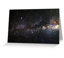 space and the universe (possibly aliens) Greeting Card