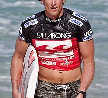 Bruce Irons at 2009 Billabong Pipe Masters by Alex Preiss