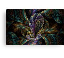 Floral Split Crops Canvas Print