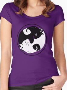 Cat Love Women's Fitted Scoop T-Shirt