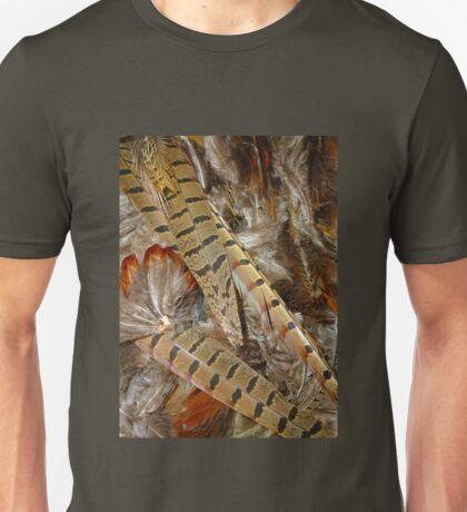 pheasant feathers 2 Unisex T-Shirt