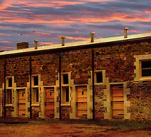 Redruth Gaol at Dusk by Wendi Donaldson Laird