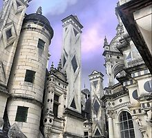 The Sentinels of Chambord (3) by Larry Lingard-Davis