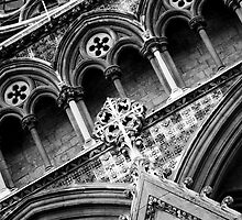 Details of Westminster Abbey by Elizabeth Tunstall
