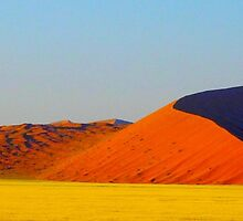 the red dunes by supergold