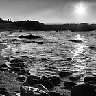 Sunset over Pacific Grove by Val Blakely