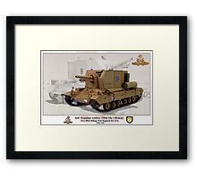 Self- Propelled Artillery 25Pdr Mk.I (Bishop) Framed Print