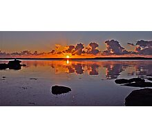 Sunrise on Tuggerah Lake. Photographic Print