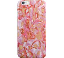 Victorian Garden  Peach iPhone Case iPhone Case/Skin