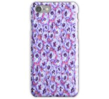 Allover Purple Pansey iPhone Case iPhone Case/Skin