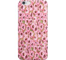 Allover Pink Pansy iPhone Case iPhone Case/Skin