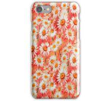Daisy Floral Peach iPhone Case iPhone Case/Skin