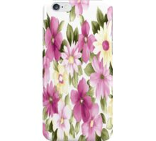 Wonderful Pink Flowers iPhone Case iPhone Case/Skin