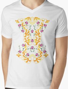 Picnic Corset Mens V-Neck T-Shirt