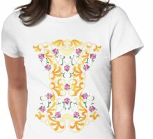 Picnic Corset Womens Fitted T-Shirt
