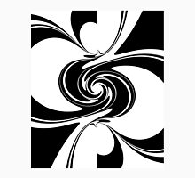 Black And White Spiral Classic T-Shirt