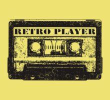 retro tape Kids Tee